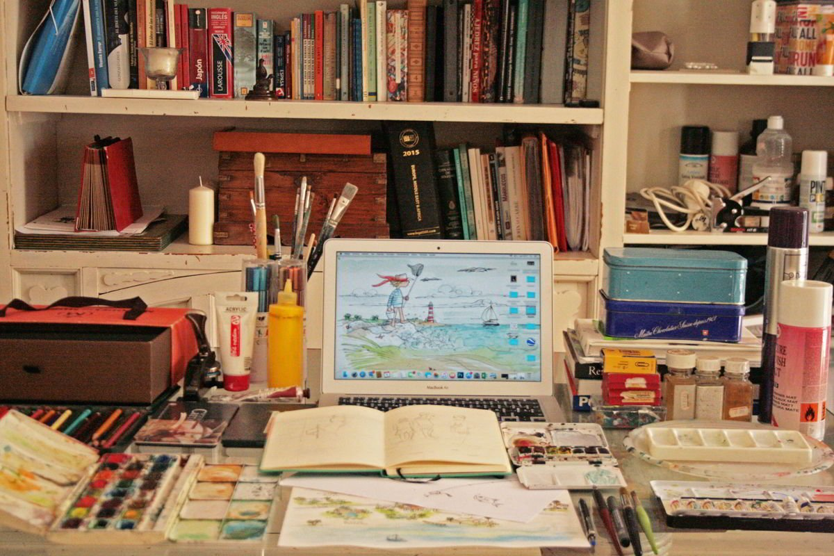 Mesa de dibujo - Carmen Campos Guereta