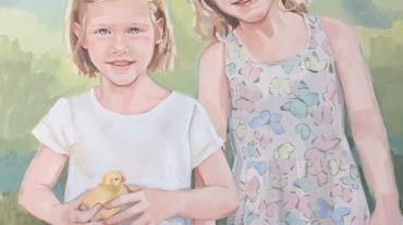 Isabela y Olivia Arbuthnot